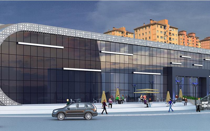 Kültür merkezi ile Aktepe'nin çehresi değişecek