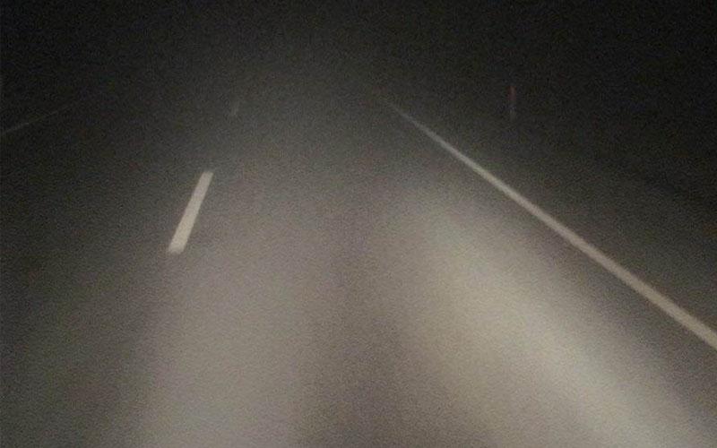 Denizli – Antalya karayolunda yoğun sis