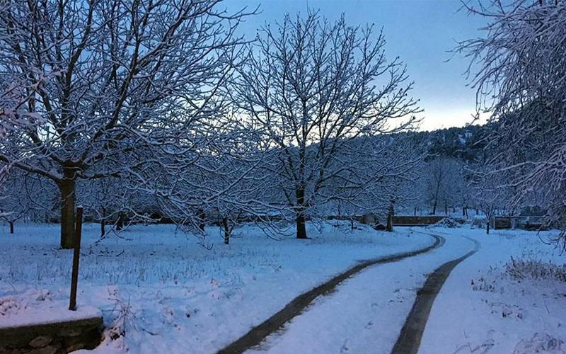 11 ilçede kar, 8 ilçede karla karışık yağmur