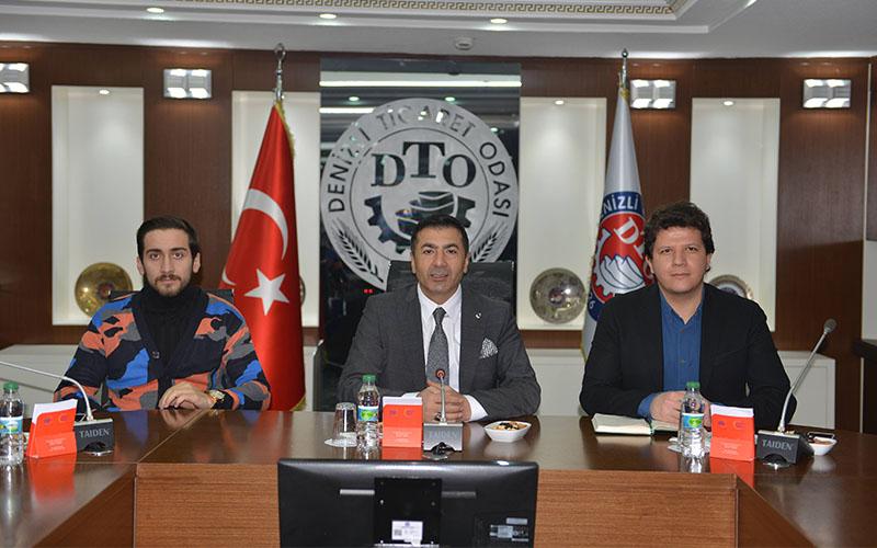 Genç Girişimciler, DTO Başkanı Erdoğan'ı ağırladı