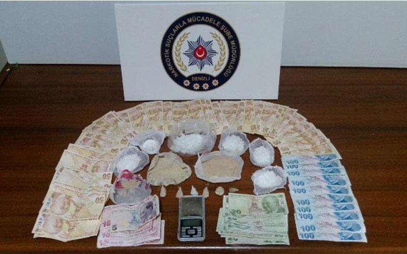 Denizli-İran hattında uyuşturucu trafiği