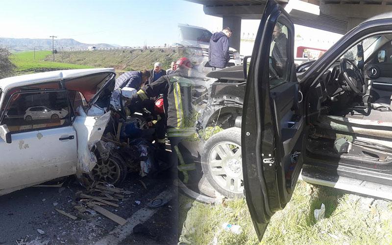 Denizli'de Çevre Yolu'ndaki kazada 4 kişi yaralandı