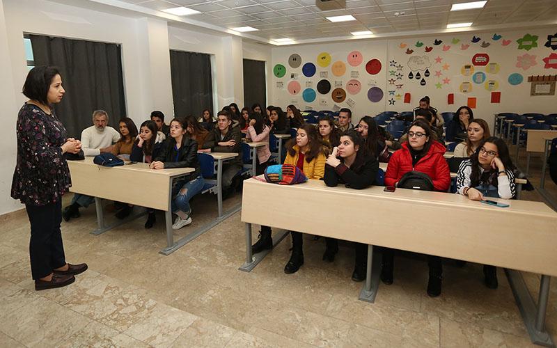 PAÜ'ye İzmirli öğrencilerden ziyaret