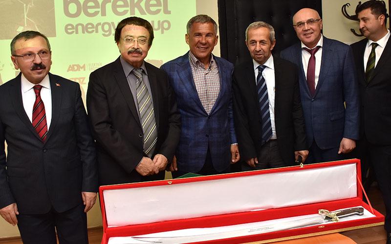 Tataristan Cumhurbaşkanı Yatağan Santrali'nde
