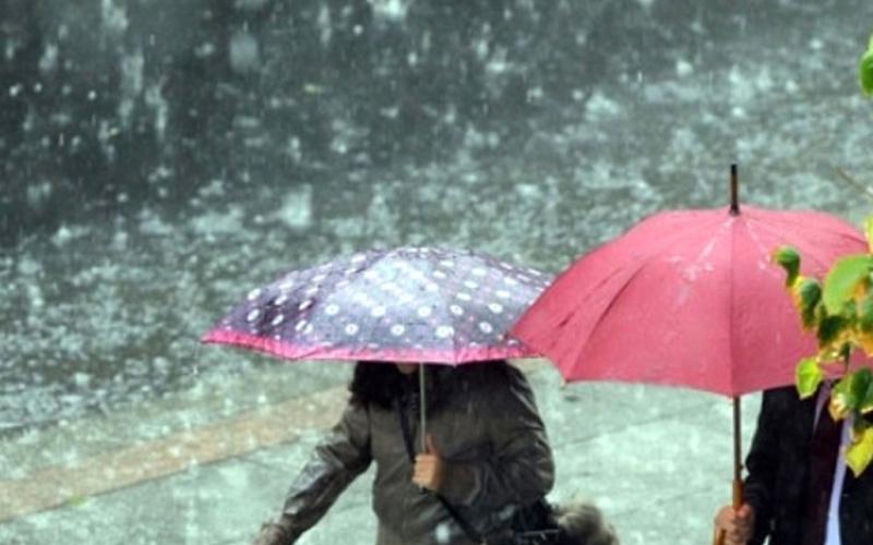 Denizli'de yağmur ve kar yağışlı günler