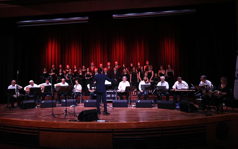 PAÜ Hastaneleri TSM Korosu'ndan konser