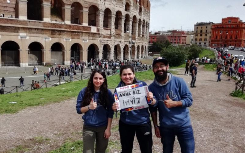PAÜ'lü öğrenciler Roma-Amsterdam yolunda
