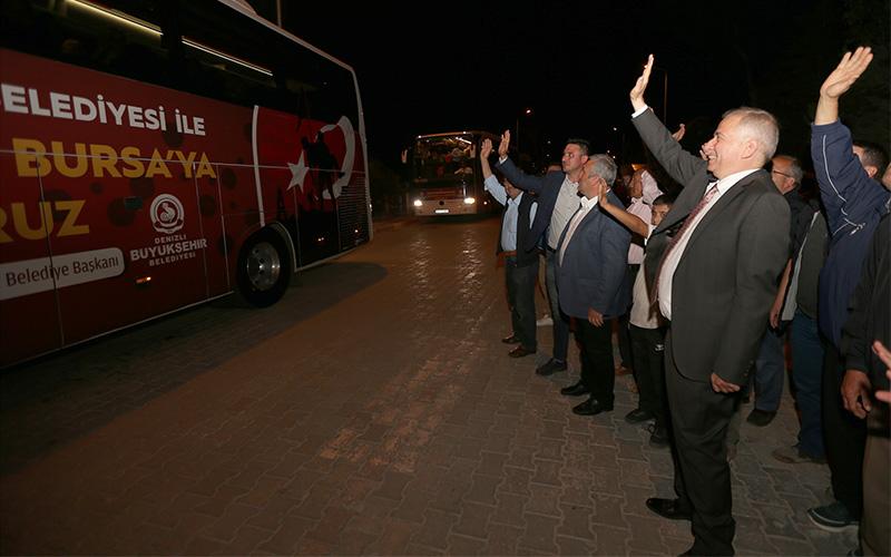 Bursa-Çanakkale gezisinde 9. kafile yola çıktı