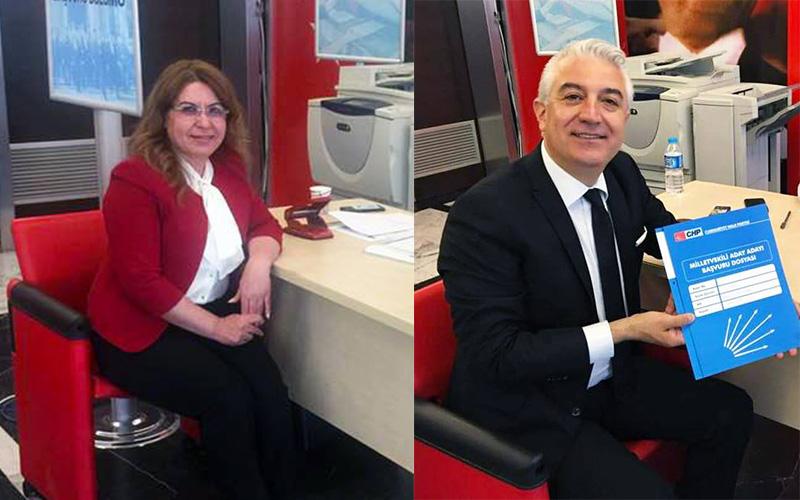 Karaca ve Sancar, adaylık başvurusunu yaptı