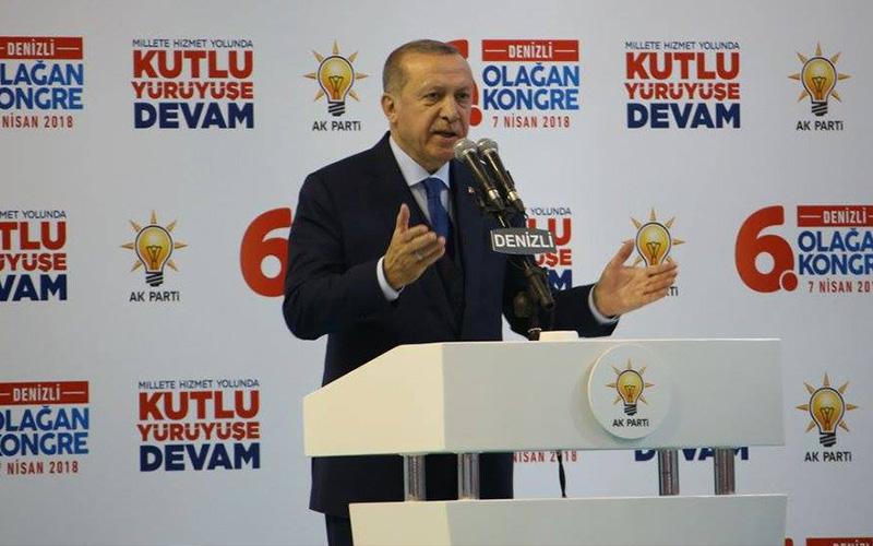 Erdoğan: Denizli'de yolumuz uzun, yükümüz ağır