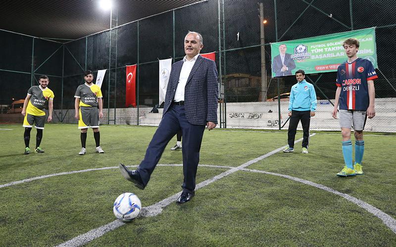 Pamukkale Futbol Şöleni'nde heyecan başladı
