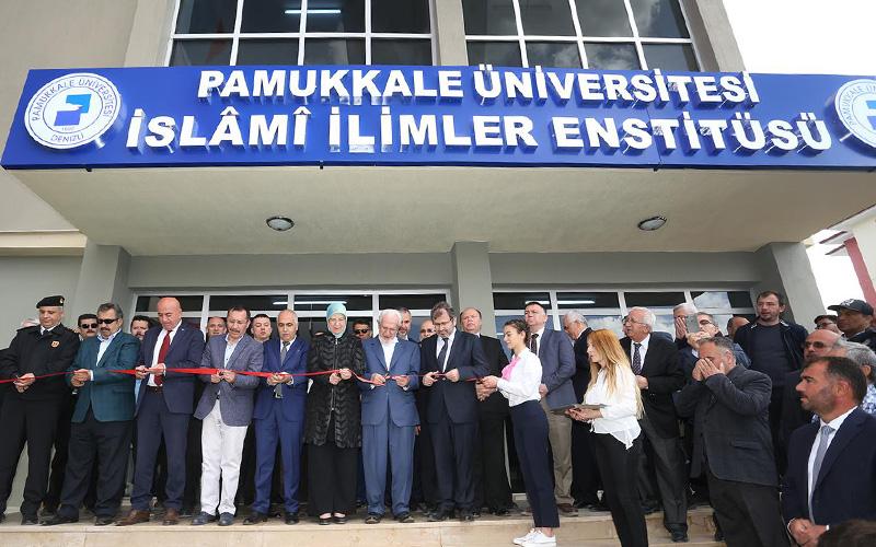 PAÜ İslami İlimler Enstitüsü açıldı