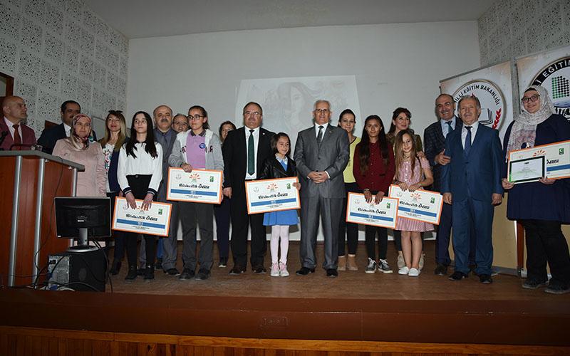 Sağlıklı Nesil Sağlıklı Gelecek yarışmasının ödülleri verildi
