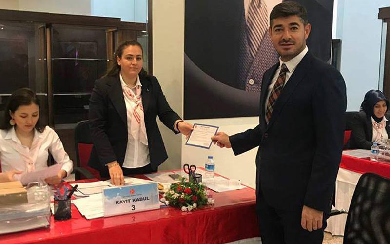 Mehmet Uz, MHP'den milletvekili aday adayı oldu