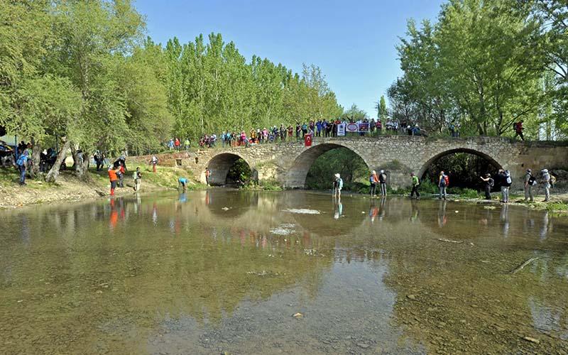 Menderes rotasında 32 ilden 250 kişi yürüdü