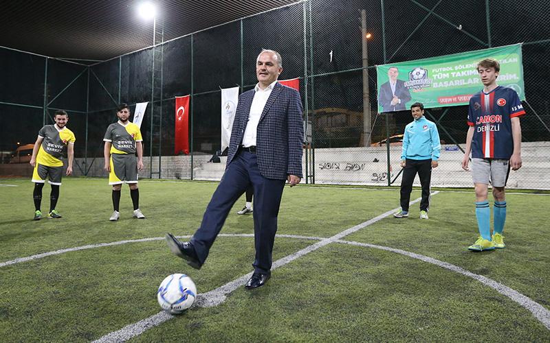 Pamukkale 7. Futbol Şöleni'nde final heyecanı başlıyor