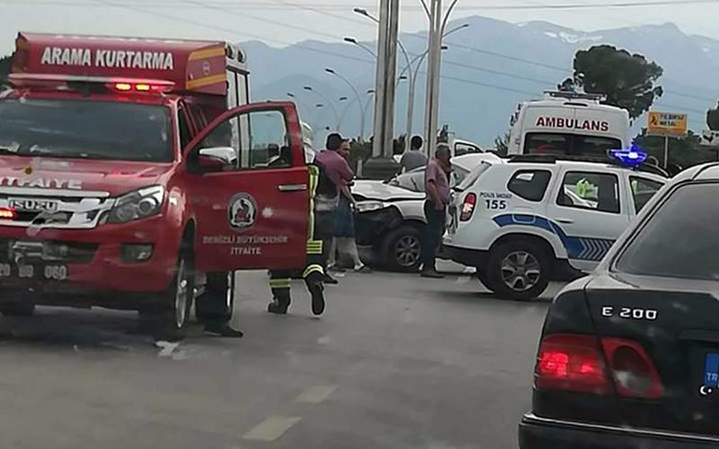Pamukkale karayolunda kaza: 5 yaralı