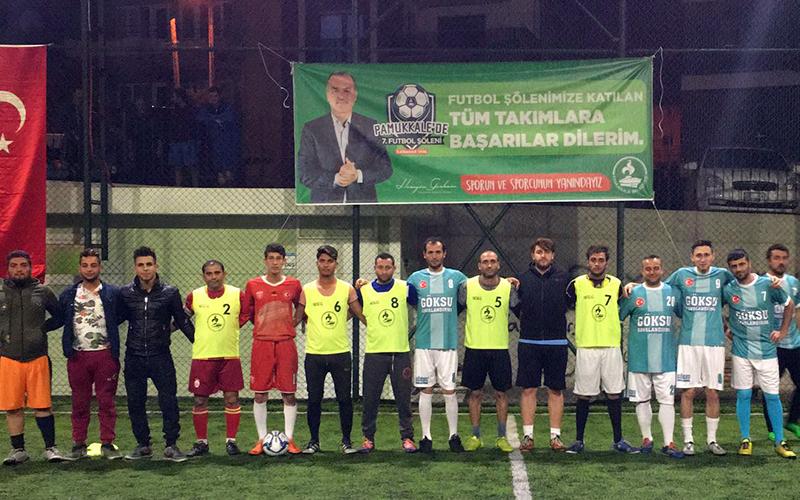 Pamukkale 7. Futbol Şöleni'nde ilk tur tamamlandı