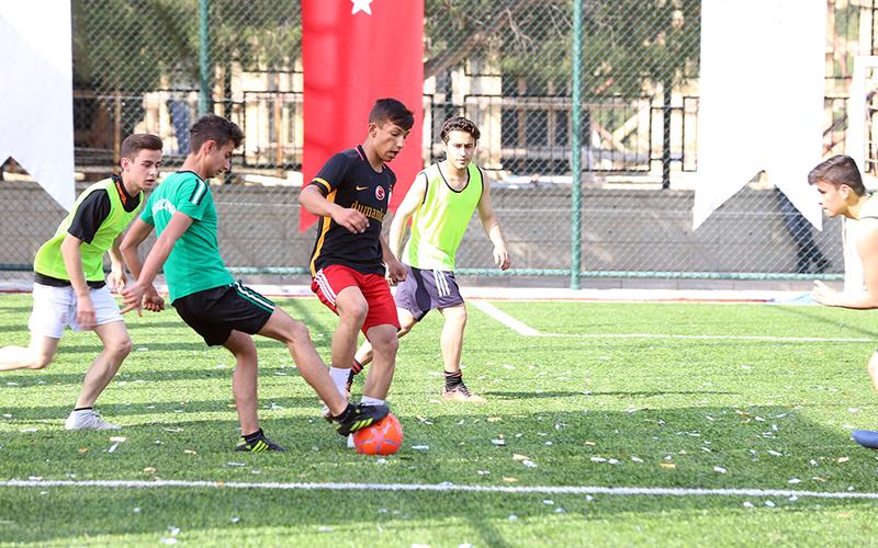 Pamukkale Belediyesi-TÜGVA işbirliğiyle futbol turnuvası
