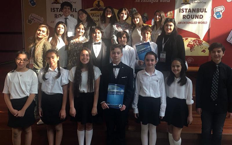 PEV Okulları Dünya Bilginler kupası'nda yarışacak