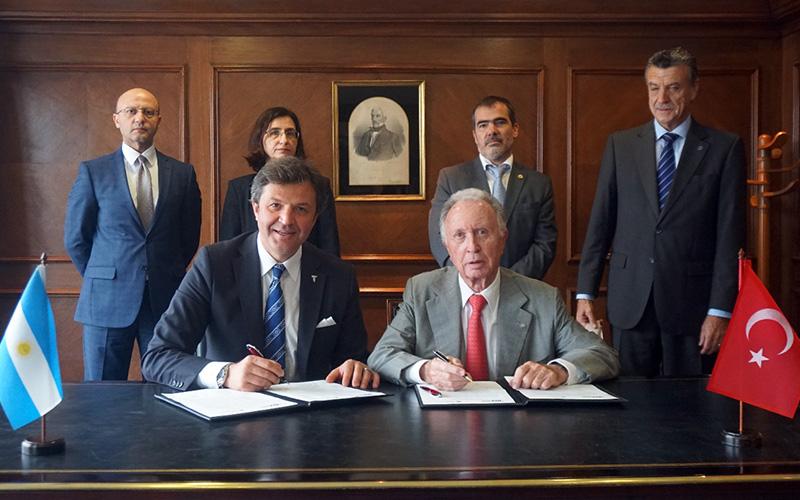 Kocasert başkanlığındaki ihracatçı heyeti Arjantin'de