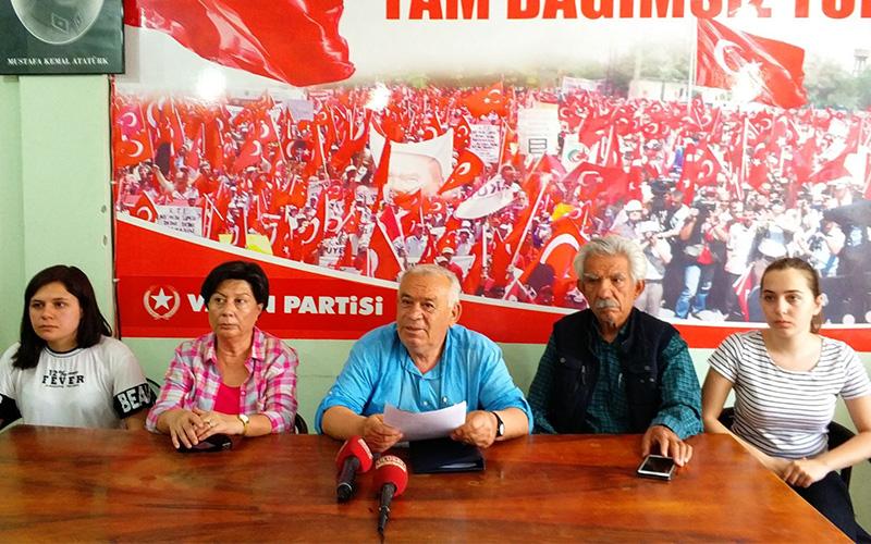 Vatan Partisi'nden 100 bin imza tepkisi