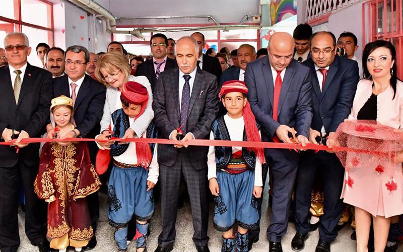 Bozkurt İnceler Atatürk İlkokulu Z Kütüphanesi açıldı