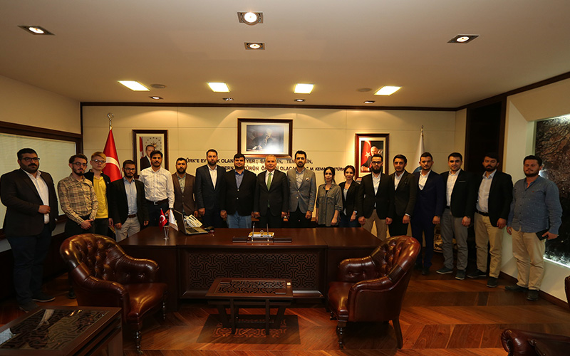 AK Parti Gençlik Kolları'ndan Zolan'a ziyaret