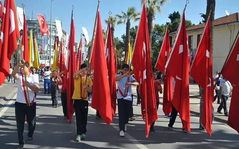 19 Mayıs Atatürk'ü Anma Gençlik ve Spor Bayramı'nı kutluyoruz