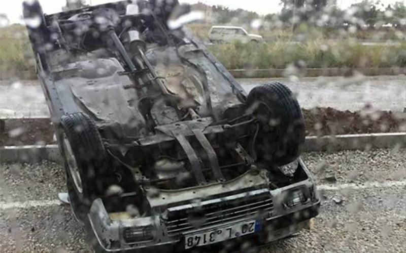 Yağmurla gelen trafik kazası