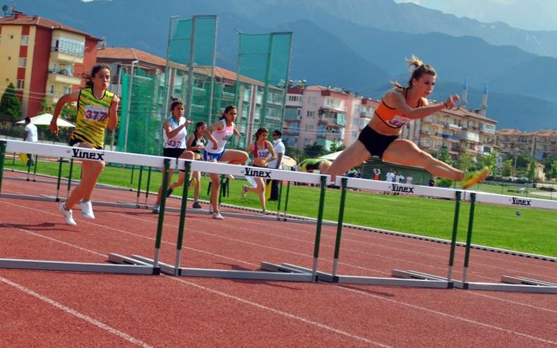 Atletizm heyecanı Denizli'de yaşandı