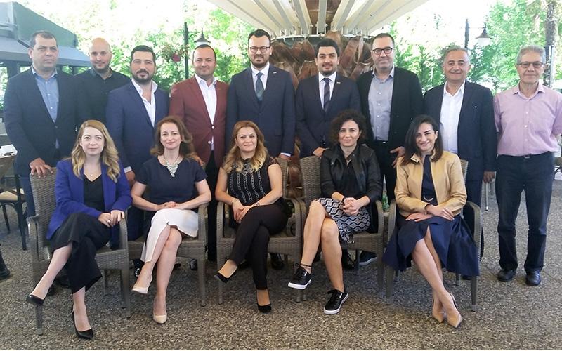 BASİAD'ın yeni yönetimi medyayla buluştu