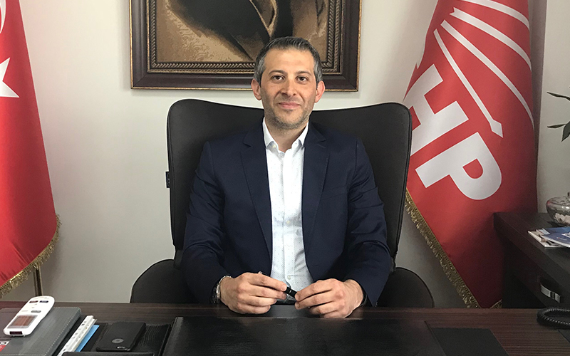 CHP'de Mahir Akbaba il başkanı oldu