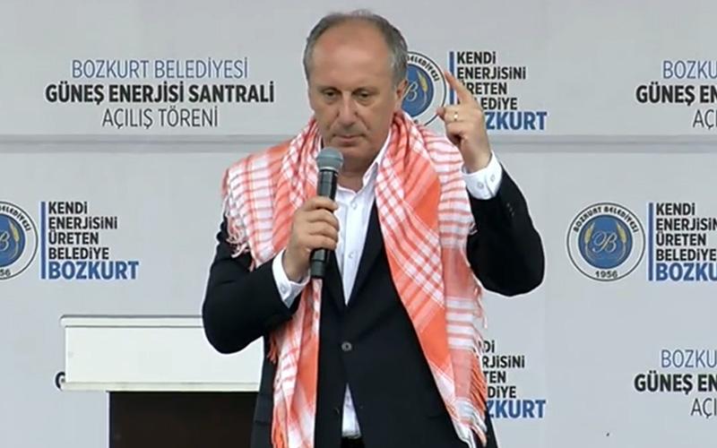 İnce'den Erdoğan'a 'CHP pisliktir' yanıtı