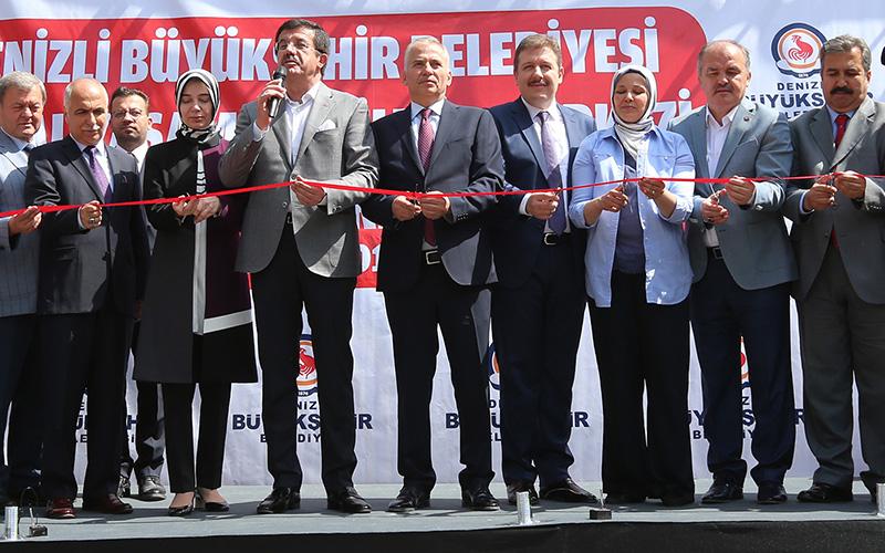 Büyükşehir'in Sosyal Yaşam ve Kültür Merkezi hizmete açıldı