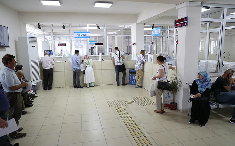 Pamukkale Belediyesi'nde vezneler hafta sonu açık