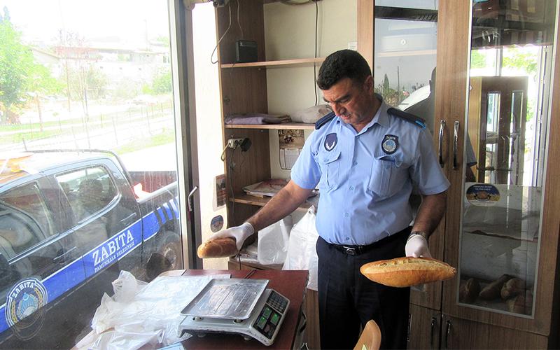 Pamukkale Belediyesi'nden fırın denetimleri
