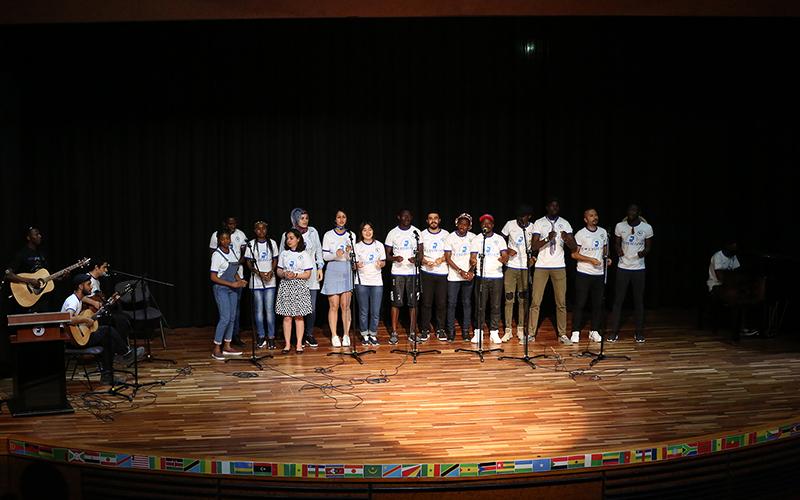 PAÜ'de Afrika Kültür Gecesi