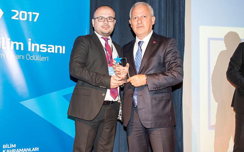 Paü'lü akademisyene 'Genç Bilim İnsanı' Ödülü