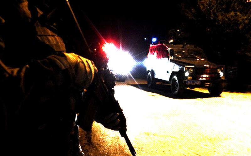 Polisten gece operasyonu, gözaltılar var