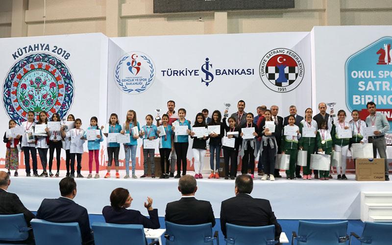 Sıdıka Çalışkan Ortaokulu, satrançta Türkiye şampiyonu