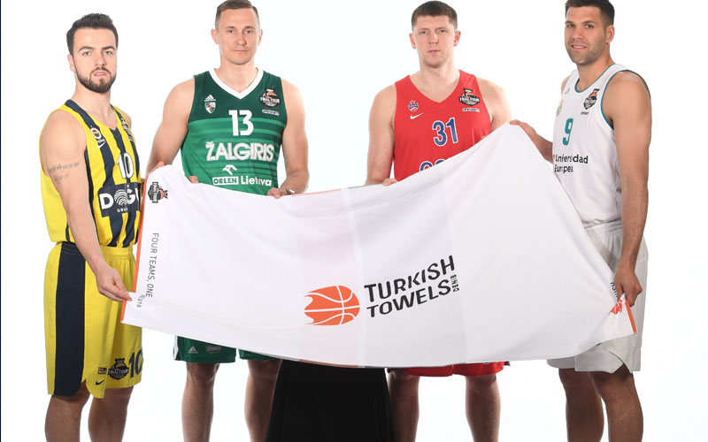 Turkish Airlines Euroleague finalinin havluları yine Turkish Towels olacak
