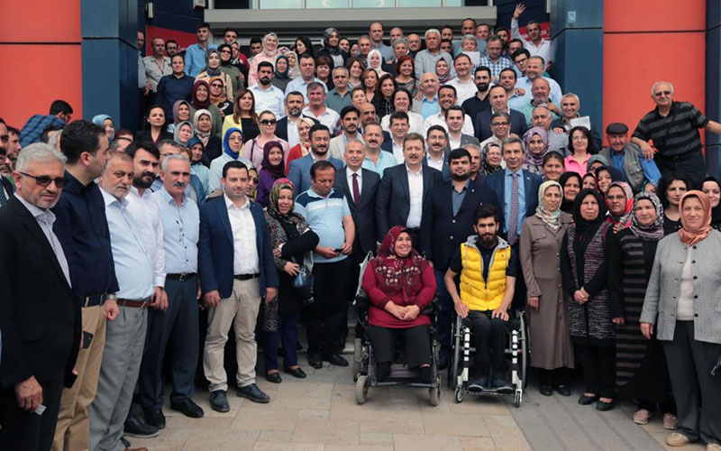 Denizli'den Erdoğan'ın kampanyasına bağış