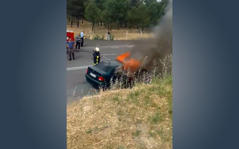 Peş peşe otomobil yangınları