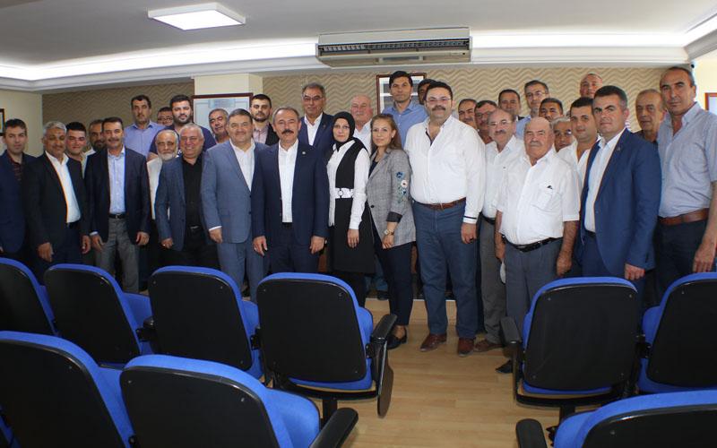 Tin'den Devecioğlu'na kutlama ziyareti