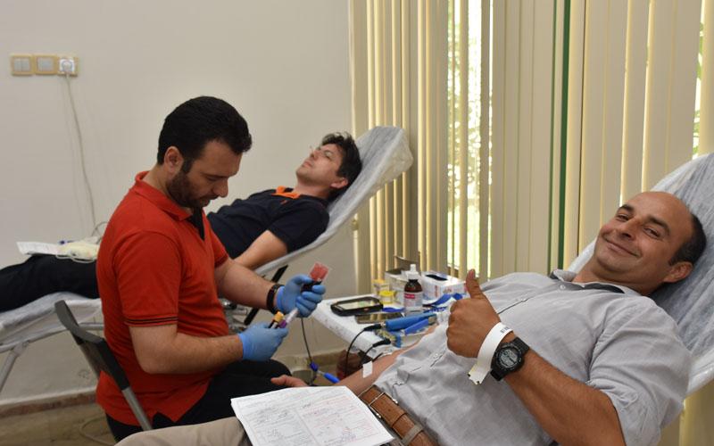 OSB'de Kızılay'a kan bağışı