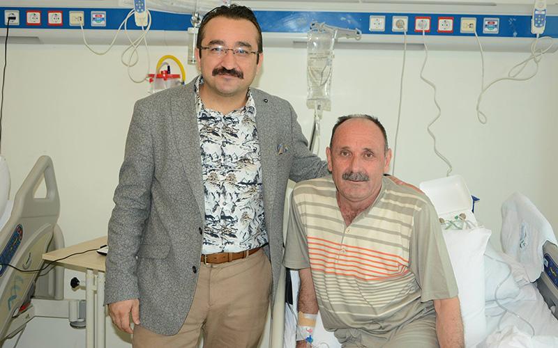 PAÜ Hastanesi'nde KOAH hastalarına tel tedavisi