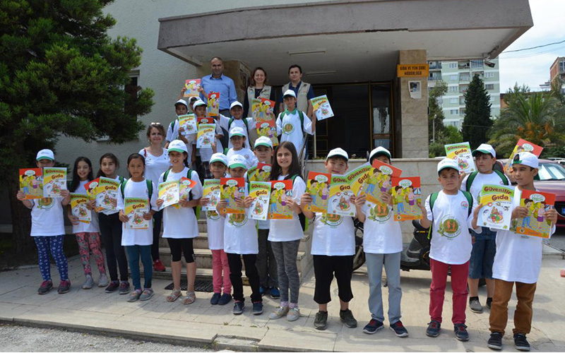 Lider Çocuk Tarım Kampı sona erdi