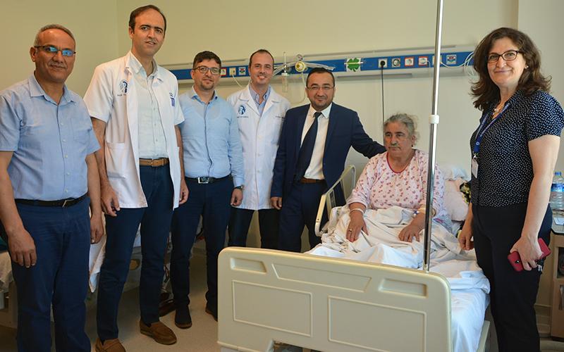 PAÜ Hastanesi'nde erken bayramlaşma