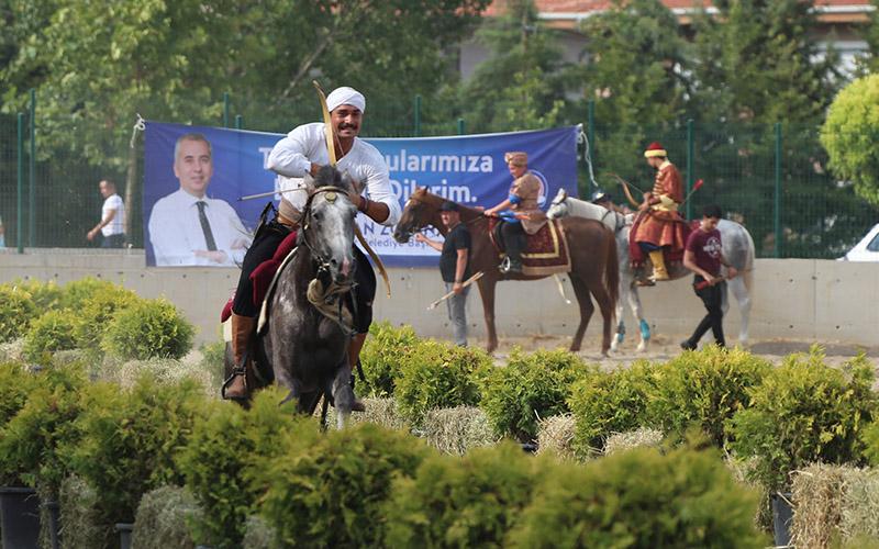 Atlı Okçuluk Türkiye Şampiyonası finali Denizli'de